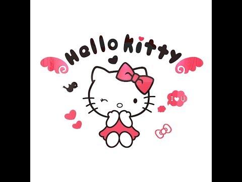 Hướng dẫn dán decal 3d Hello Kitty - Kitty House 666
