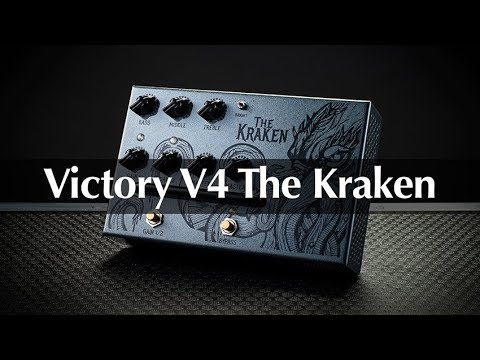 Victory V4 The Kraken Pedal Preamp – Full Demo With Rabea Massaad & Martin Kidd