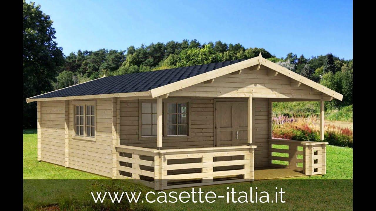 Chalet in legno di alta qualita 39 casette italia youtube for Casette italia