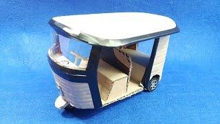 How to Make a Powered Richshaw (Tuk Tuk) - Electric Rickshaw Battery