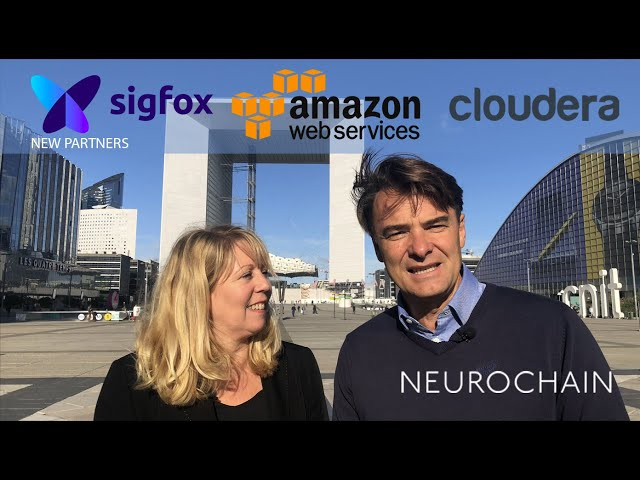 NeuroChain partners with Sigfox, AWS (Amazon Web Services) and Cloudera