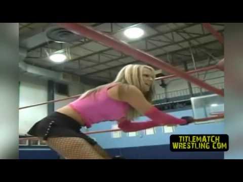 Talia Madison Before She Was Velvet Sky (TNA Knockout)