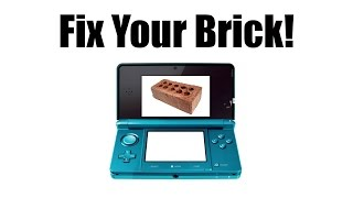 How to Repair a Soft Bricked 3DS Using Recovery Mode