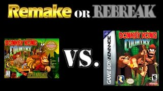 ROR: Donkey Kong Country (SNES Vs. GBA)