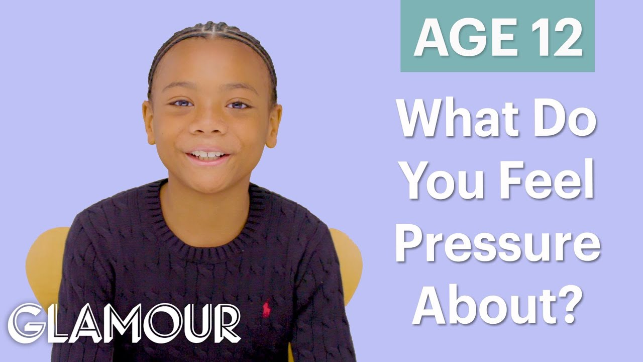 70 Men Ages 5-75: What Do You Feel Pressure About? | Glamour