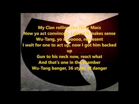 Wu-Tang Clan -  Bring Da Ruckus (lyrics)