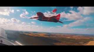 Полет стрижей над Барнаулом  (Аэросъёмка)HD.