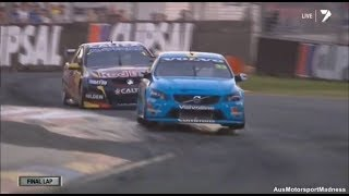 V8 Supercars | Mclaughlin Vs Whincup Awesome Finish!   2014 Clipsal 500