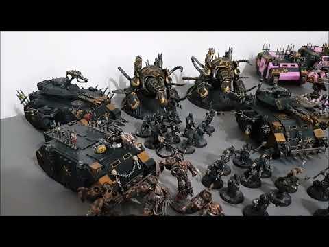 4 v 4 Warhammer 40k battle report