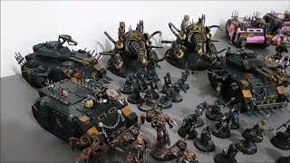 Four player free for all; Warhammer 40k battle report