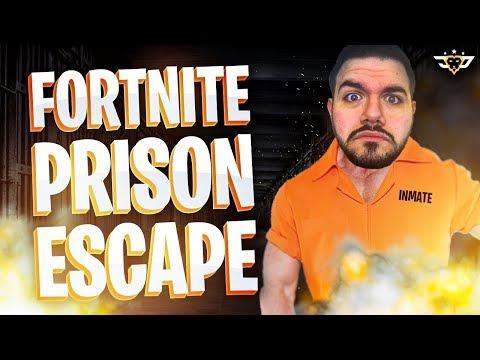 COURAGE ATTEMPTS FORTNITE PRISON ESCAPE! RECORD TIME?! (Fortnite: Battle Royale)