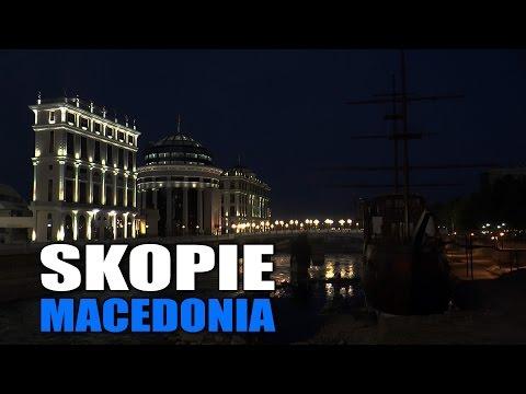 SKOPJE MACEDONIA |  SKOPJE MACEDONIA | Скопје Македонија (HD)