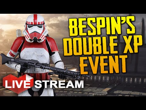 Star Wars Battlefront: Bespin | Double XP Event & SUB WAR! | Gameplay Live Stream