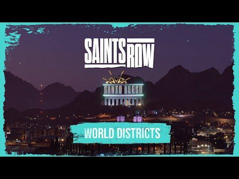 SAINTS ROW Districts of Santo Ileso