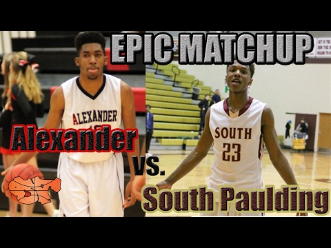 EPIC MATCHUP Alexander vs. South Paulding | BATTLE FOR REGULAR SEASON REGION CHAMPS