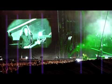 Metallica-Of Wolf And Man at stade de France Paris 12 05 2012