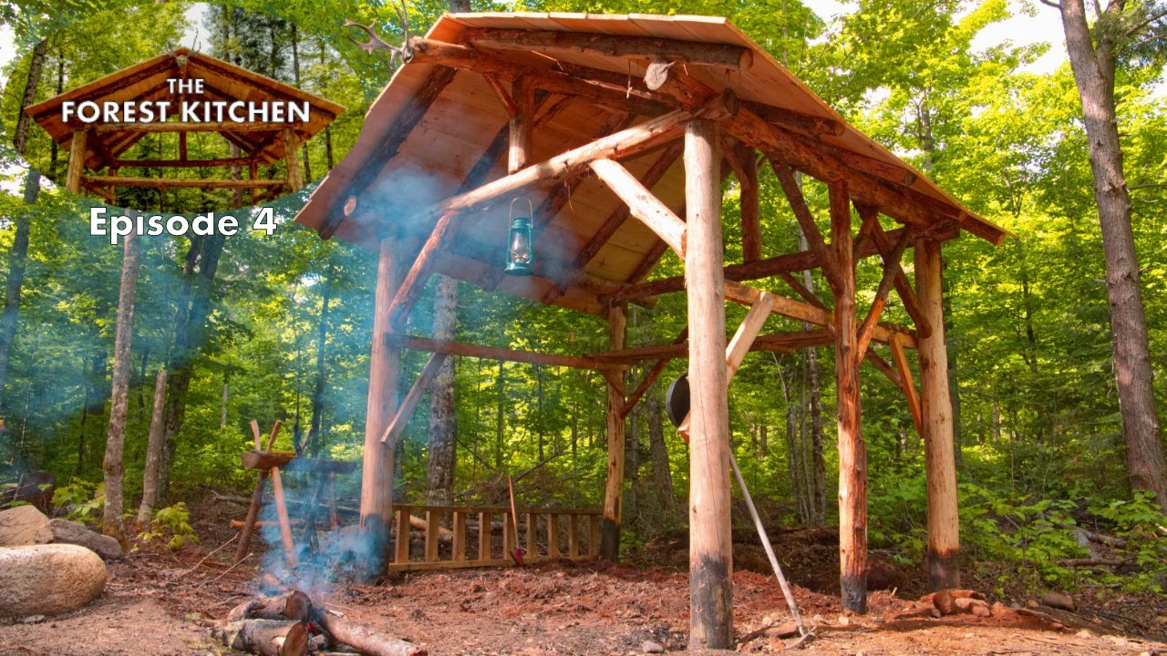 the-forest-kitchen-at-the-off-grid-log-cabin-build-ep-4-she-digs-it