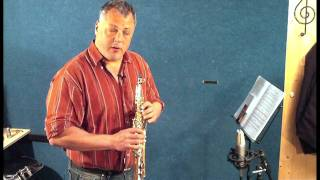 JP146 sopranino saxophone demonstration by Pete Long - John Packer Ltd