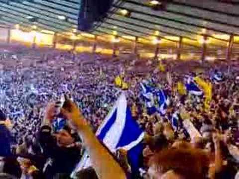 Scotland V Italy flower of scotland