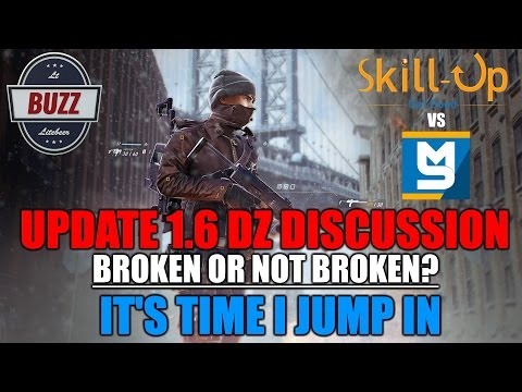 THE DIVISION I My thoughts on Skill Up's and MarcoStyle's Dark Zone Videos