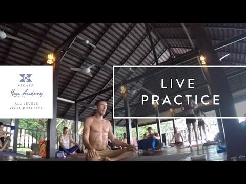 Vikasa Yoga Complete Asana Sequence 3 | Vikasa Live Session