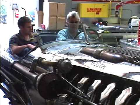 Jay Leno's tank car gets Banks turbos