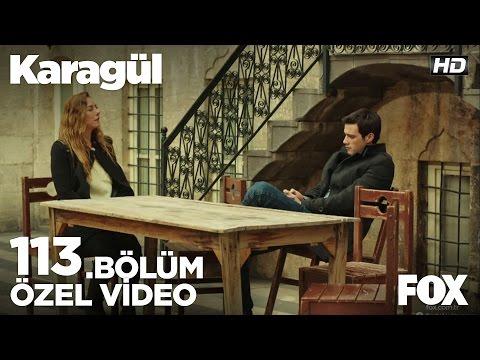 Ebru, Baran'la konuşuyor…Karagül 113.Bölüm