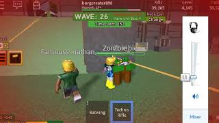 dragon beast in wave 51! roblox zombie attack!