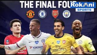 Fa Cup Semifinal Draw : Manchester United To Face Chelsea !!!!