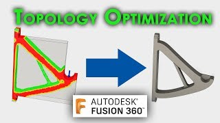 TUTORIAL: Topology Optimization in Fusion 360 – 3D printing filament spool holder