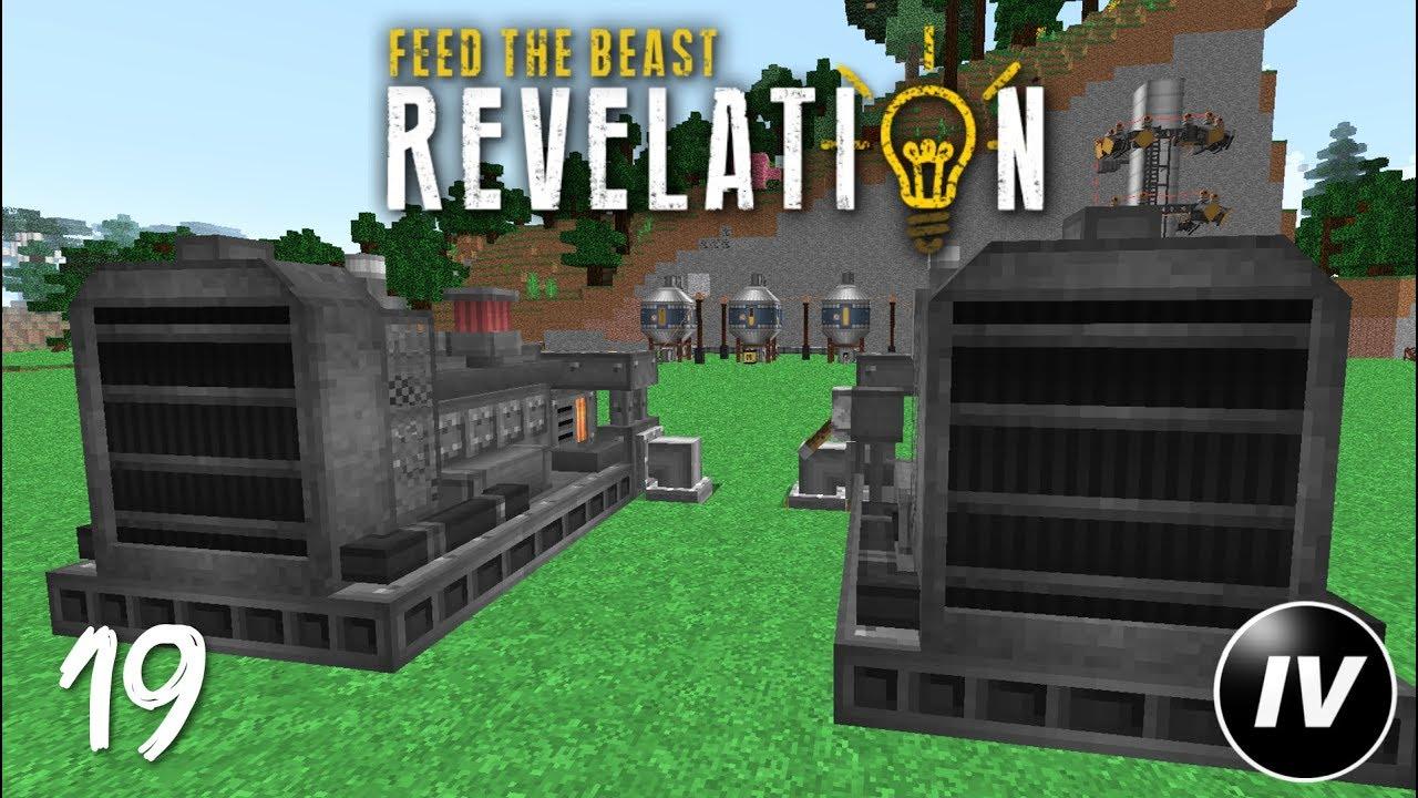 FTB Revelation - Ep 19 - Diesel Generators
