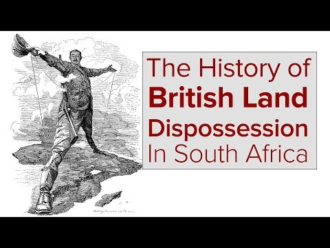 British Imperial Evil in South Africa Exposed by Jacob Zuma