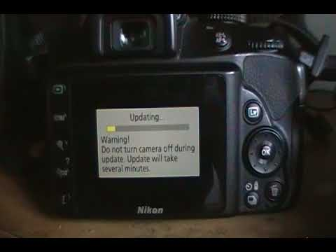 How to update your Nikon D3400 firmware