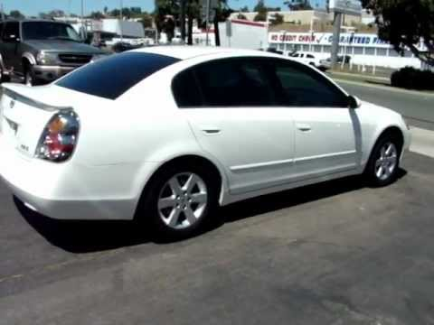2002 Nissan Altima One Owner Pearl White Used Cars