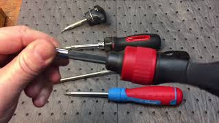 Some Interesting Ratcheting Screwdrivers...