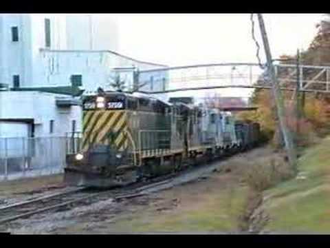 New Hampshire Northcoast RR on Bad track