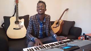Hakuna mungu Kama wewe piano seben tutorial by saviour bee