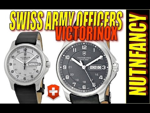 Victorinox Officers Watch: $156 Swiss Perfection