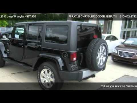 2012 Jeep Wrangler 4WD 4dr Sahara   For Sale In GALLATIN, TN 37066. Ed  Miracle