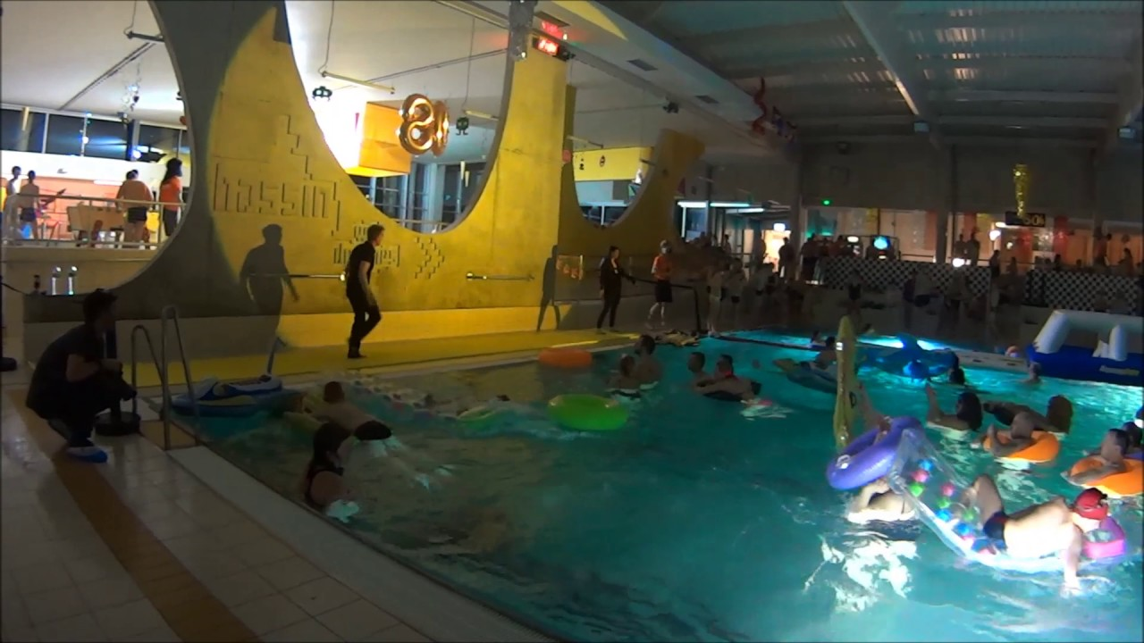 Piscine Des Weppes Soiree 80 90 Le Show Youtube