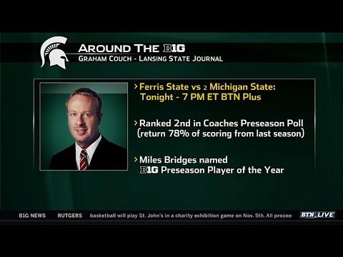 Graham Couch Talks Michigan State Men