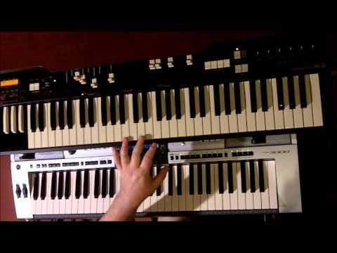 """MADNESS. """"LOS PALMAS 7"""" KEYBOARD TUTORIAL.(keyboard credit to)MIKE BARSON."""