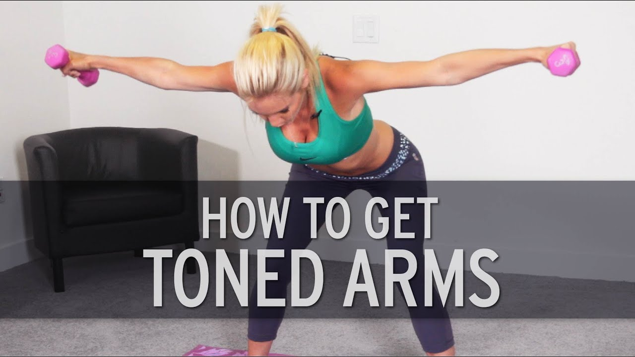 Slim down arms fast