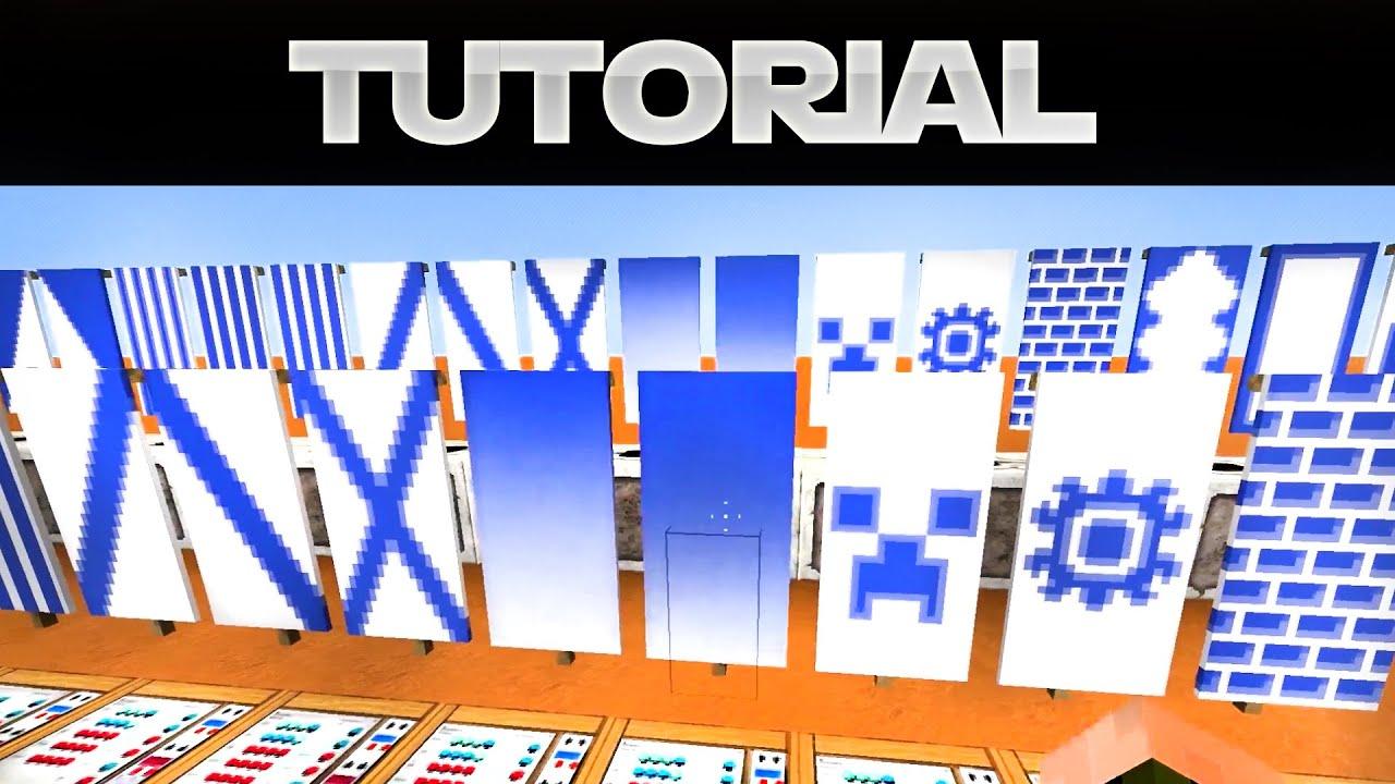 Banner Mit Commandbl 246 Cken Erstellen Minecraft 1 8