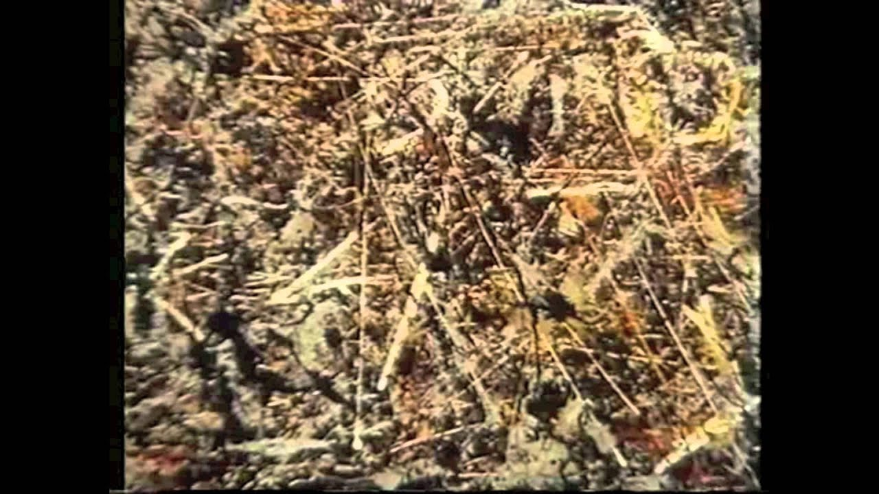 Jackson Pollock action paintingmov YouTube