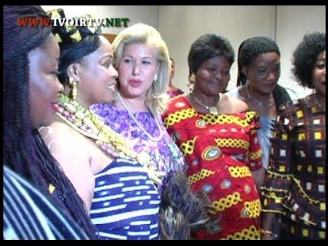 Abengourou/Palais Royal: la première Dame rencontre les femmesde YouTube · Durée:  6 minutes 34 secondes