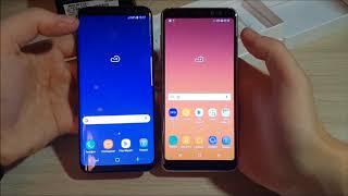 Обзор Samsung Galaxy A8 (2018) vs Samsung Galaxy S8
