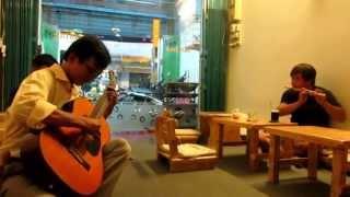 Anh Còn Nợ Em - Sáo Trúc - Guitar