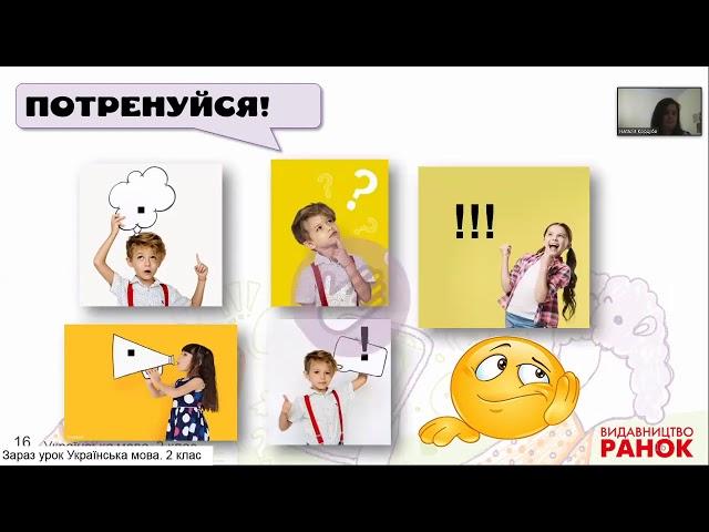 2 клас. Українська мова. Види речень. Розвиток мовлення. Пишу СМС-повідомлення