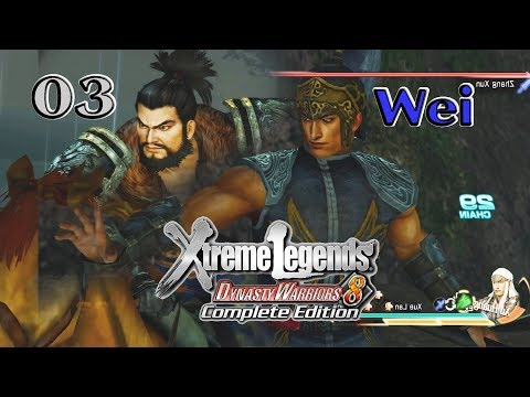 Dynasty Warriors 8XLCE: Wei Story 03: Puyang & Escorting the Emperor in DW6 Style Xu Huang 5thWeapon